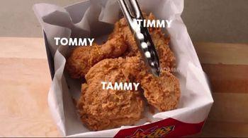 Church's Chicken Restaurants 10 for $10 TV Spot, 'Everybody Wants a Piece'