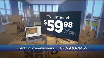 Spectrum Mi Plan Latino Double Play TV Spot, 'Mudanza' [Spanish] - Thumbnail 3