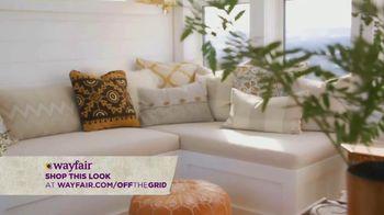 Wayfair TV Spot, 'HGTV: Sarah Off the Grid: How to Decorate a Belvedere' - Thumbnail 6