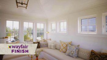 Wayfair TV Spot, 'HGTV: Sarah Off the Grid: How to Decorate a Belvedere' - Thumbnail 1