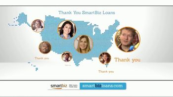 SmartBiz SBA 7(a) Loan TV Spot, 'Thank You'