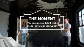Lowe's TV Spot, 'The Moment: Any Color You Want: Stain-Resistant Paint' - Thumbnail 2