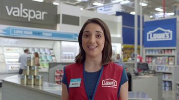 Lowe's TV Spot, 'The Moment: Any Color You Want: Stain-Resistant Paint' - Thumbnail 5
