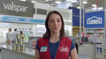 Lowe's TV Spot, 'The Moment: Any Color You Want: Stain-Resistant Paint' - Thumbnail 6