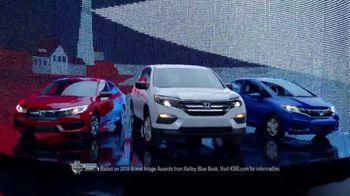 Honda Memorial Day Sales Event TV Spot, 'All Across America' [T2]