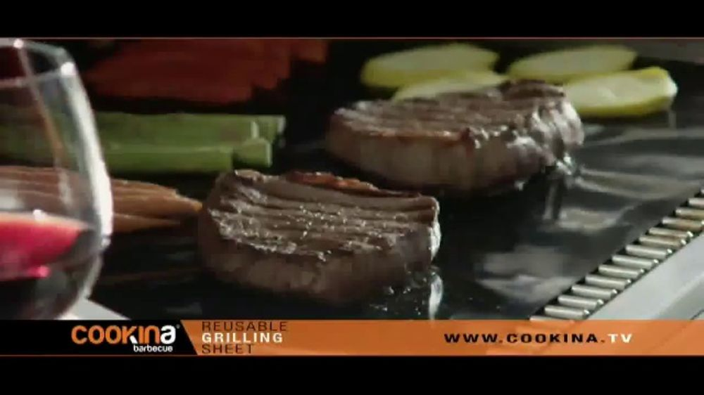 Cookina TV Commercial, 'Grilling Without the Mess' Featuring Kevin Harrington