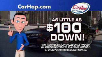 CarHop Auto Sales & Finance Summer Celebration TV Spot, 'Bad Credit: $100 Down' - Thumbnail 5