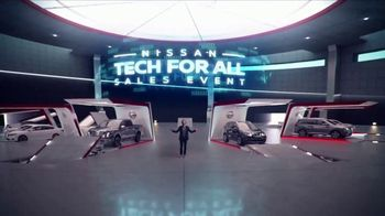 Nissan Tech for All Sales Event TV Spot, 'Upgrade' [T2] - 79 commercial airings