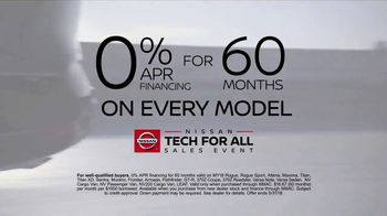 Nissan Tech for All Sales Event TV Spot, 'Upgrade' [T2] - Thumbnail 7