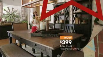 Ashley HomeStore Memorial Day Sale TV Spot, 'Extended: Dining Tables' - Thumbnail 5