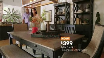 Ashley HomeStore Memorial Day Sale TV Spot, 'Extended: Dining Tables' - Thumbnail 6