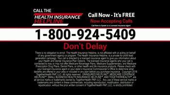 Health Insurance Helpline TV Spot, 'Immediate Relief' - Thumbnail 10
