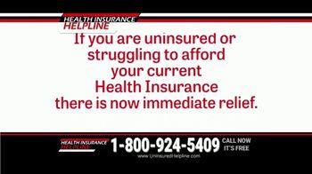 Health Insurance Helpline TV Spot, 'Immediate Relief' - Thumbnail 3