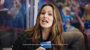 Capital One Venture Card TV Spot, 'Penalty Box' Featuring Jennifer Garner - Thumbnail 4
