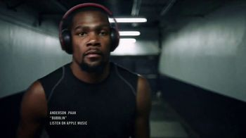 Beats Decade TV Spot, 'Made Defiant' Featuring LeBron James, Kevin Durant - 21 commercial airings