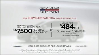 Chrysler Memorial Day Sales Event TV Spot, 'Incredibles 2: 2018 Pacifica' [T2] - Thumbnail 7