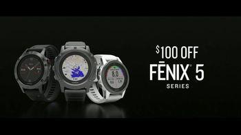 Garmin fenix 5 Series TV Spot, 'Saturday: $100 Off' - Thumbnail 8