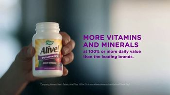 Nature's Way Alive! Garden Goodness TV Spot, 'Own the Morning'