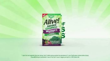 Nature's Way Alive! Garden Goodness TV Spot, 'Own the Morning' - Thumbnail 8