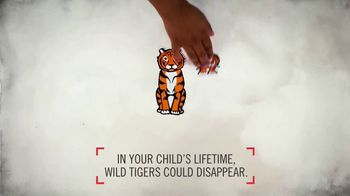 World Wildlife Fund TV Spot, 'Wild Tigers Could Disappear' - Thumbnail 6