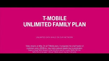 T-Mobile Unlimited Family Plan TV Spot, 'Get Lost in Space' - Thumbnail 6