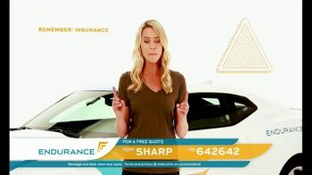 Endurance Direct TV Spot, 'Total Protection' Featuring Katie Osborne - Thumbnail 6