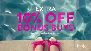 Belk Summer Essentials Sale TV Spot, 'Earn Belk Bucks' - Thumbnail 3