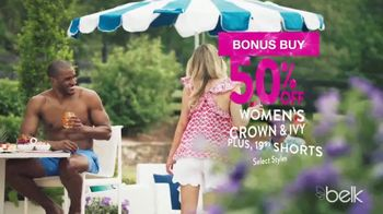 Belk Summer Essentials Sale TV Spot, 'Earn Belk Bucks' - Thumbnail 4
