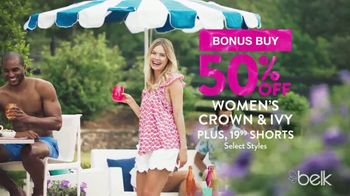 Belk Summer Essentials Sale TV Spot, 'Earn Belk Bucks' - Thumbnail 5