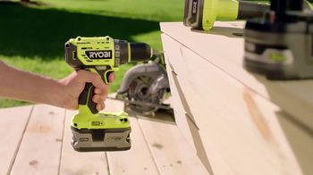 The Home Depot Ryobi Days TV Spot, 'ONE+ Tools: Free Tool or Battery' - Thumbnail 2