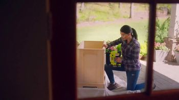 The Home Depot Ryobi Days TV Spot, 'ONE+ Tools: Free Tool or Battery' - Thumbnail 5