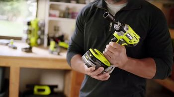 The Home Depot Ryobi Days TV Spot, 'ONE+ Tools: Free Tool or Battery' - Thumbnail 6