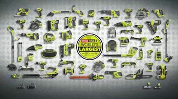 The Home Depot Ryobi Days TV Spot, 'ONE+ Tools: Free Tool or Battery' - Thumbnail 8