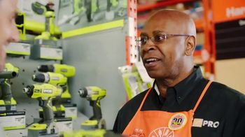 The Home Depot Ryobi Days TV Spot, 'ONE+ Tools: Free Tool or Battery' - Thumbnail 9