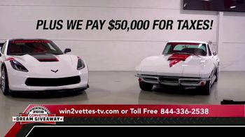 2018 Corvette Dream Giveaway TV Spot, 'Win Two Corvettes' - Thumbnail 4