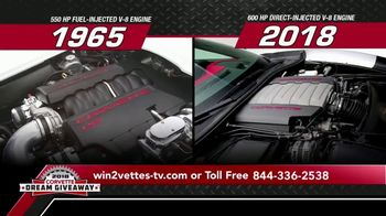 2018 Corvette Dream Giveaway TV Spot, 'Win Two Corvettes' - Thumbnail 8