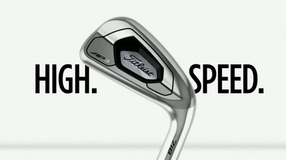 Titleist 718 AP3 TV Commercial, 'High  Speed ' - Video