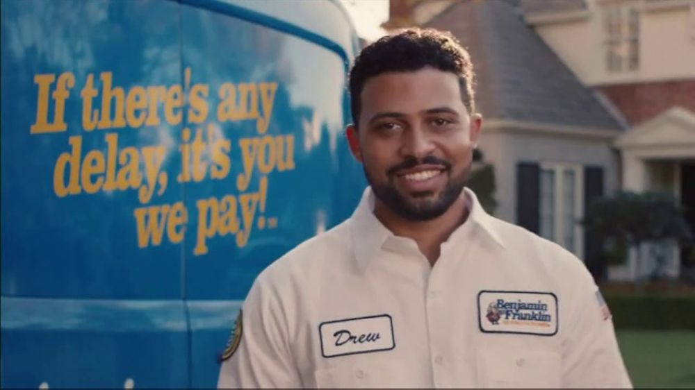 Benjamin Franklin Plumbing TV Commercial, 'A Small Leak Will Sink a Great Ship'