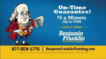 Benjamin Franklin Plumbing TV Spot, 'A Small Leak Will Sink a Great Ship' - Thumbnail 9
