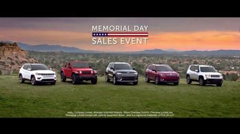 Jeep Memorial Day Sales Event TV Spot, 'Great Deals' Song by The Score [T2] - Thumbnail 4