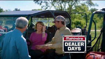 Mahindra Dealer Days TV Spot, 'American' - Thumbnail 3