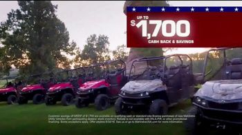 Mahindra Dealer Days TV Spot, 'American' - Thumbnail 6
