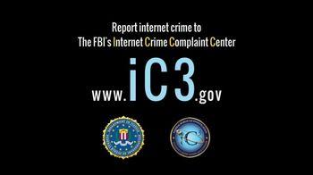 FBI Internet Crime Complaint Center TV Spot, 'Report Internet Crime' - Thumbnail 9