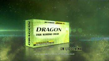 Dragon Pain Numbing Cream TV Spot, 'Despertar torcida' [Spanish] - Thumbnail 3