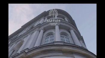 Raffles Hotel TV Spot, 'Beautifully Curated' - Thumbnail 1
