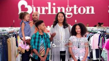 Burlington TV Spot, \'The Williams Family Gets More School Cool for Less\'