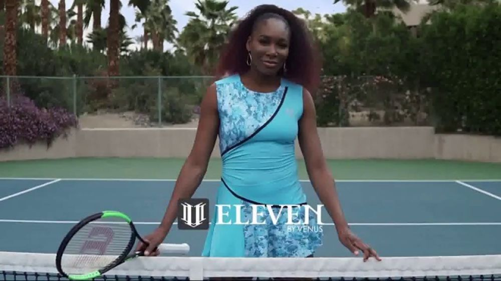 Tennis Warehouse EleVen by Venus TV Commercial, 'Be an Eleven' Ft. Venus Williams