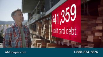 Mr. Cooper TV Spot, 'Credit Card Debt: Lower Payments'