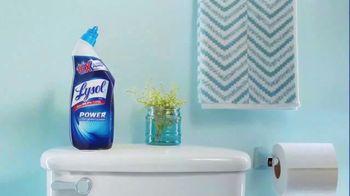 Lysol Power Toilet Bowl Cleaner TV Spot, 'Surprisingly Not Terrible' - Thumbnail 8