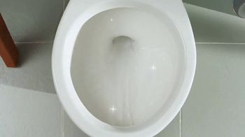 Lysol Power Toilet Bowl Cleaner TV Spot, 'Surprisingly Not Terrible'